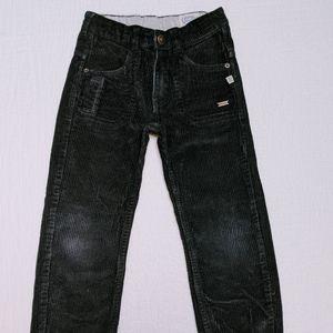 Kanz black corduroy pants, size 5